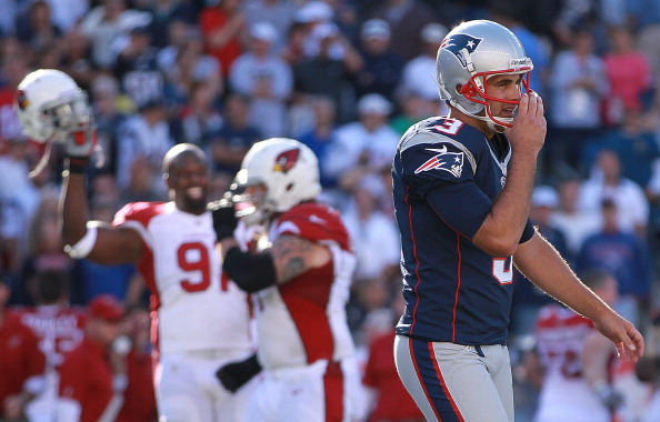Cardinals with Kolb Stun Patriots 20-18 in Foxborough