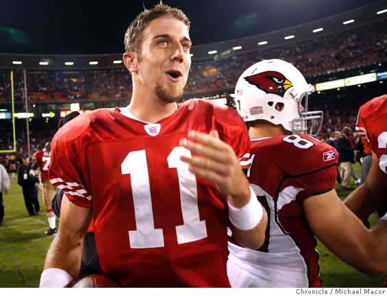 Guard Adam Snyder Says Cardinals Should Go After QB Alex Smith …
