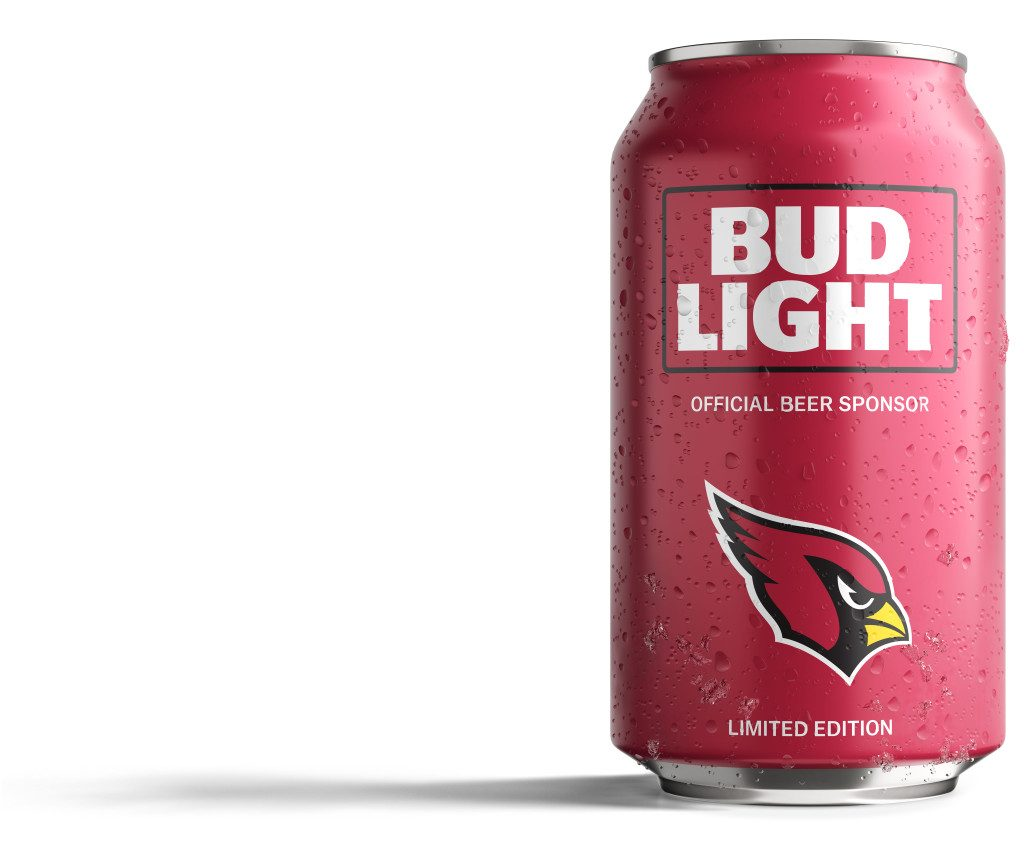 Bud Light Cardinals Can